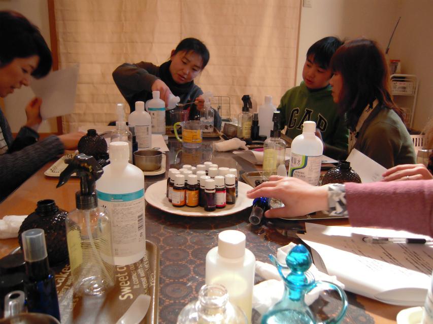 愛犬のためのアロマ&ドッグマッサージセミナー(2013.2.17) 富士宮教室