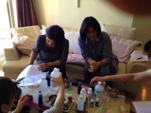 愛犬のためのアロマ&ドッグマッサージセミナー(2012.11.10)東京教室