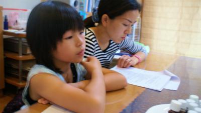 愛犬のためのアロママッサージ講座(2012.7.22)富士宮教室