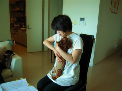 愛犬のためのアロママッサージ講座(2012.5.19)東京教室